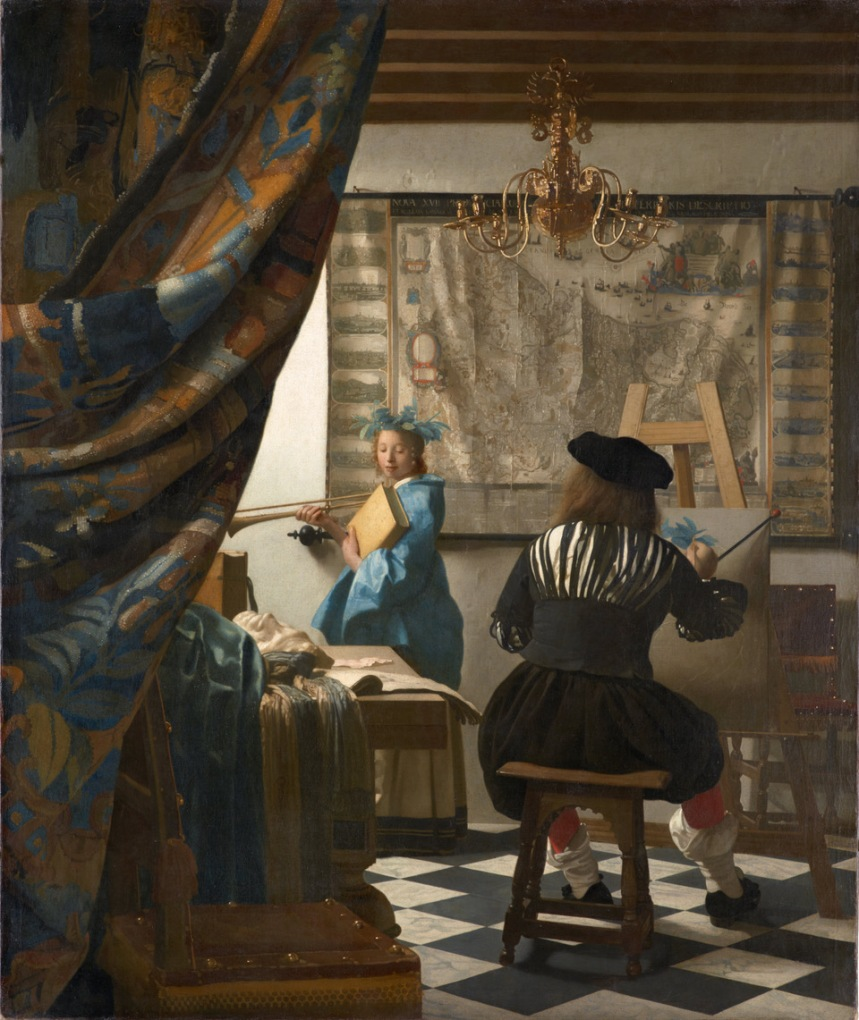 L-art de la peinture Vermeer
